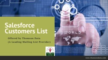 Salesforce Customers List