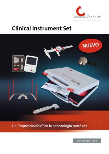 Clinical Instrument Set NUEVO - Candulor