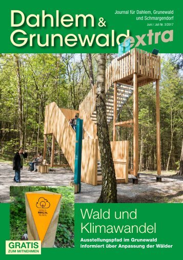 Dahlem & Grunewald extra JUN/JUL 2017