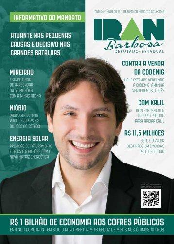 Revista do Mandato - Dep. Iran Barbosa