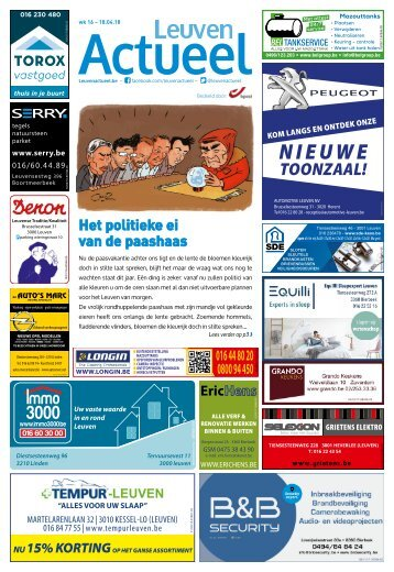 1816 Leuven Actueel - 18 april 2018 - week 16