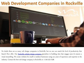 Web Development Companies in Rockville