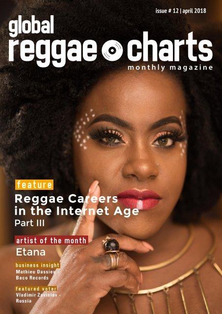 Global Reggae Charts - Issue #12 / April 2018
