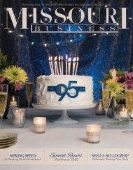 Missouri Business Magazine Spring 2018 Issue