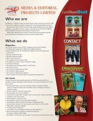 About MEP Publishers (Trinidad & Tobago, Caribbean)