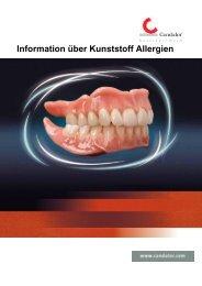 Information über Kunststoff Allergien - Candulor