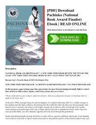 [PDF] Download Pachinko (National Book Award Finalist) Ebook  READ ONLINE