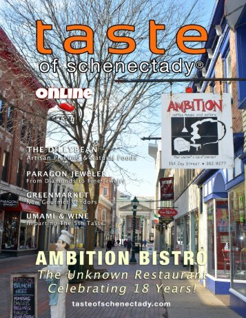 Taste of Schenectady and Beyond Vol 4 • No1