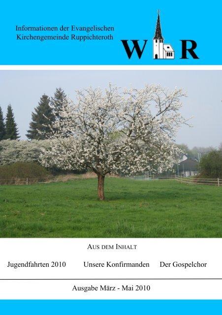 März - Mai 2010 - Evangelische Kirchengemeinde