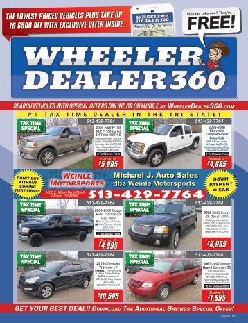 Wheeler Dealer 360 Issue 16, 2018