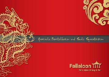 Fallaloon Speisekarte - Velden