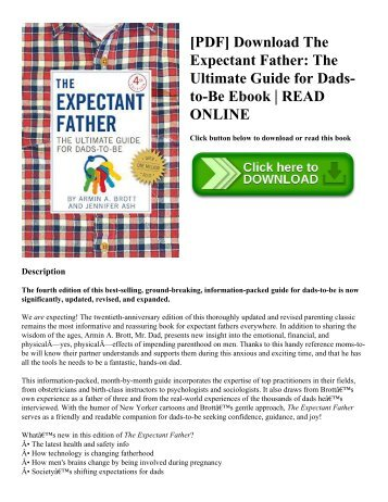 [PDF] Download The Expectant Father The Ultimate Guide for Dads-to-Be Ebook  READ ONLINE