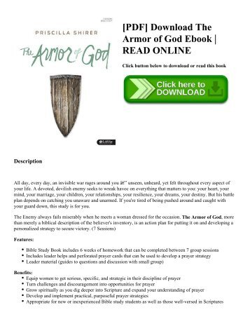 [PDF] Download The Armor of God Ebook  READ ONLINE