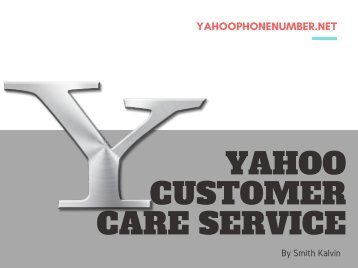 Yahoo Customer Care - 2018 | You Should See!!!