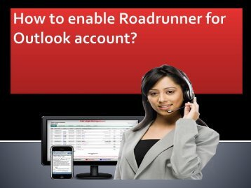 How to enable Roadrunner for Outlook account