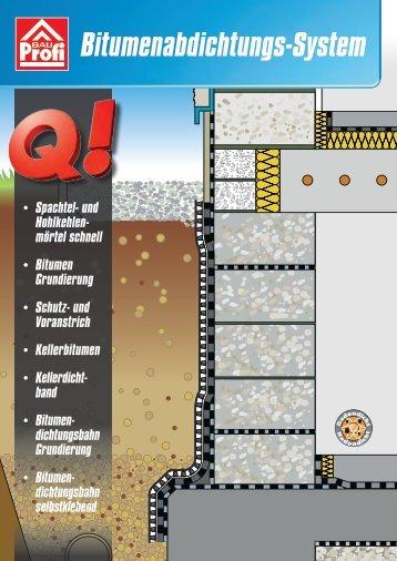 BauProfi Bitumenabdichtungs-System