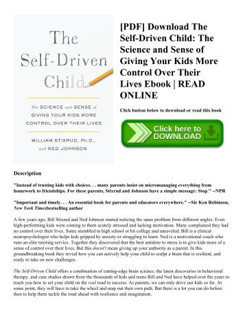 Pdf download the self driven child the science and sense of giving pdf download the self driven child the science and sense of giving your fandeluxe Image collections