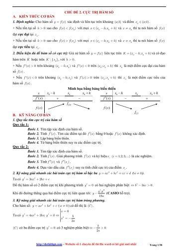 Dethithpt.com [ 2017 Edition ] - Bài tập trắc nghiệm Toán lớp 12 - FULLTEXT - Có lời giải (928 trang)