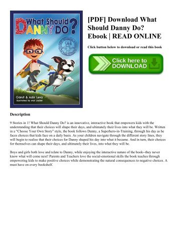 [PDF] Download What Should Danny Do Ebook  READ ONLINE