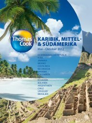 THOMASCOOK KaribikMittelSuedamerika So12