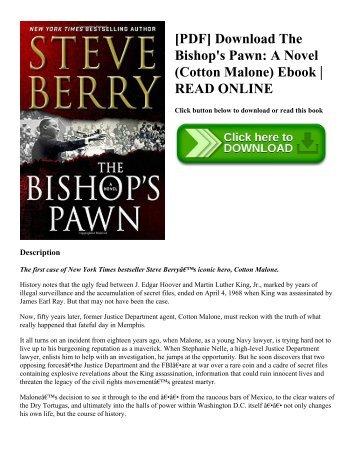 [PDF] Download The Bishop's Pawn A Novel (Cotton Malone) Ebook  READ ONLINE