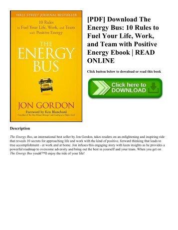 Pdf download turning pro tap your inner power and create your pdf download the energy bus 10 rules to fuel your life work and team fandeluxe Choice Image