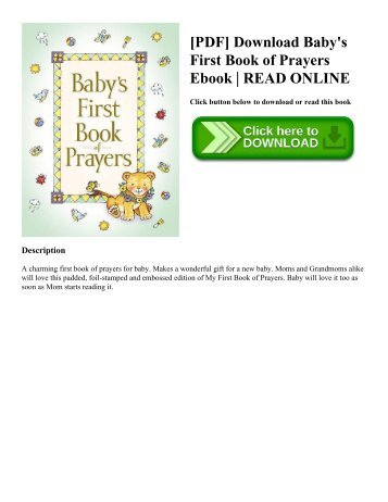Read the prayers section pdf breslov pdf download babys first book of prayers ebook read online fandeluxe Images