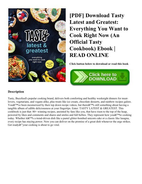 Cookery Book Pdf