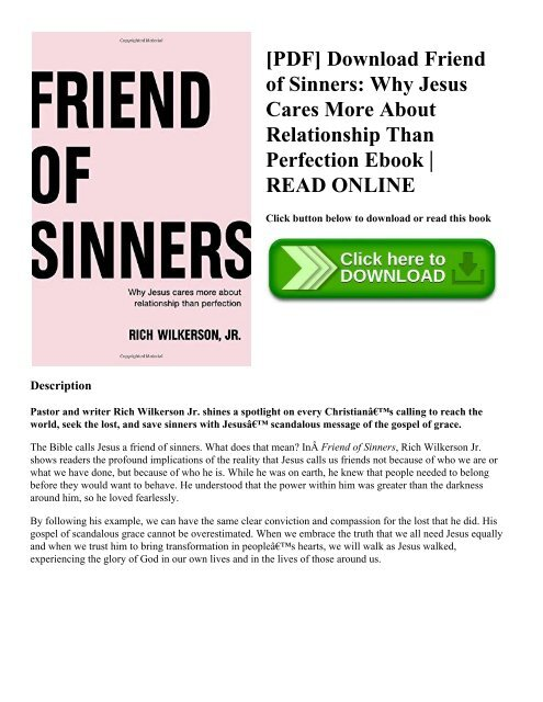 Friendship With God Pdf