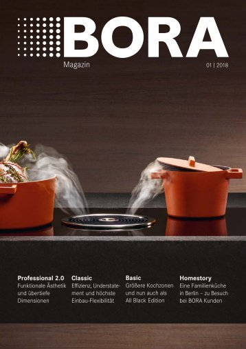 BORA Magazin 01|2018 – Deutsch
