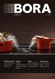 BORA Magazin 01|2018 – English