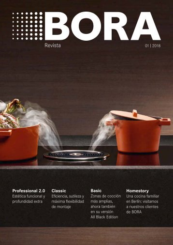 BORA Magazin 01|2018 – Spanish