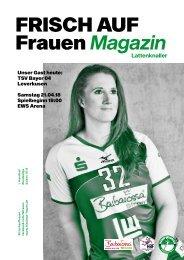 Ausgabe 11 - Saison 2017/2018 - FRISCH AUF Frauen Magazin
