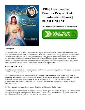 Read the prayers section pdf breslov pdf download st faustina prayer book for adoration ebook read online fandeluxe Images