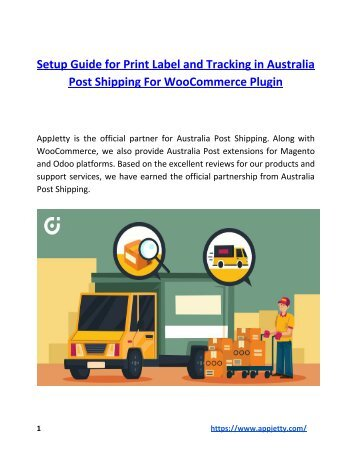 Setup Guide for Print Label and Tracking in Australia Post Shipping For WooCommerce Plugin