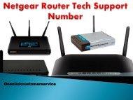 Netgear Router Tech Support Phone Number