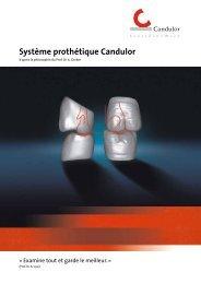 Système prothétique Candulor