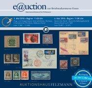 Auktionshaus Felzmann - Auktion-1019 - Philatelie