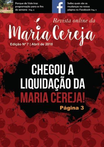 Revista Maria Cereja - Edição nº 07