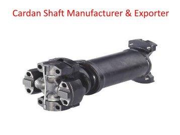Cardan Shaft Manufacturer & Exporter | Jaypee Drives