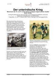 Der unterirdische Krieg - Napoleon Online