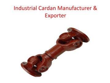 Industrial Cardan Shaft Manufacturer & Exporter | Jaypee Drives