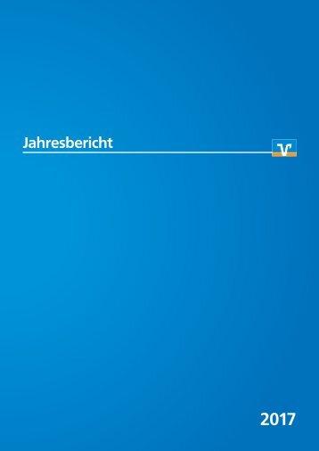 Volksbank Jahresbericht 2017
