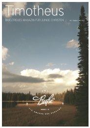 Timotheus Magazin #9 - Buße