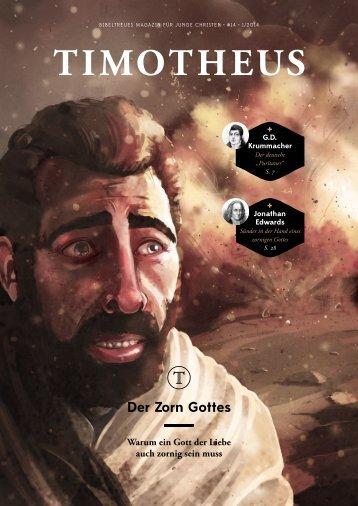 Timotheus Magazin #14 - Zorn