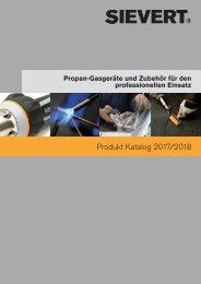 Wagner Gas Sievert Gesamt-Katalog 2017 - 2018