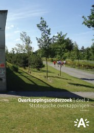 Overkappingsonderzoek deel II: Strategische overkappingen