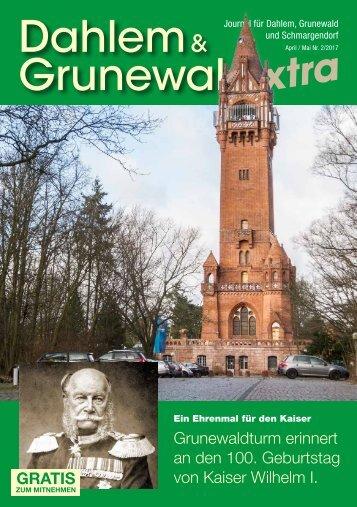 Dahlem & Grunewald extra APR/MAI 2017
