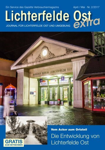 Lichterfelde Ost extra APR/MAI 2017