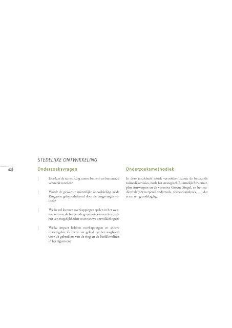 Eindrapport Overkappingsonderzoek
